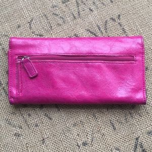 Kenneth Cole Bags - Kenneth Cole Wallet Hot Pink Color , pre-owned